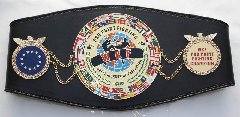 WKF Pro Point Fighting Europe belt